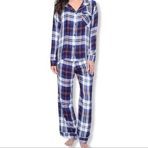 Plush Revolve Ultrasoft Plaid Pajama Set